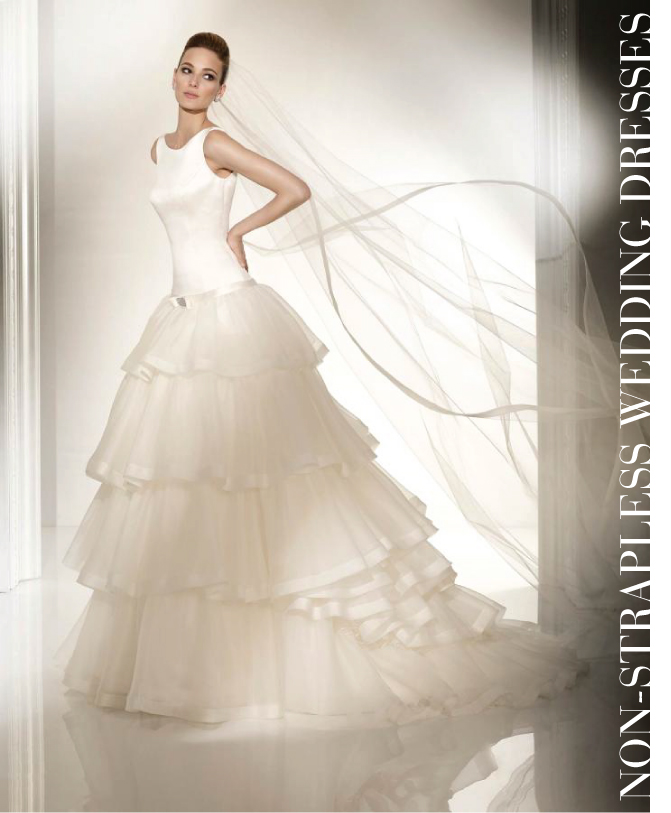 bridal fashion non strapless wedding dresses belle the
