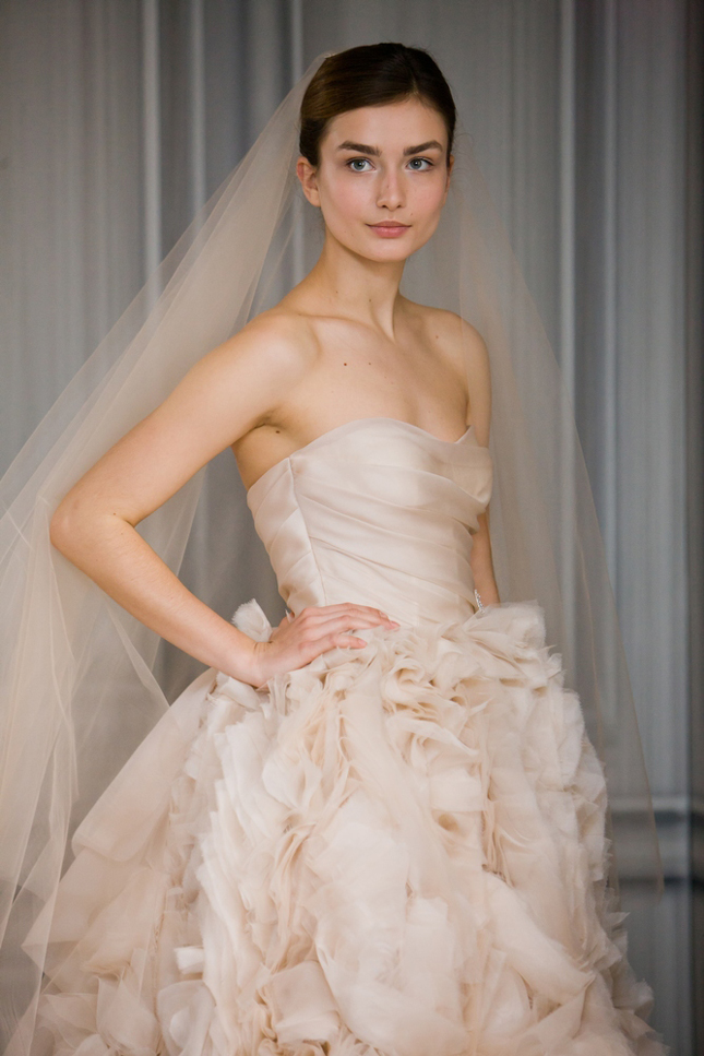 NYC Bridal Market- Monique Lhuillier Spring 2012