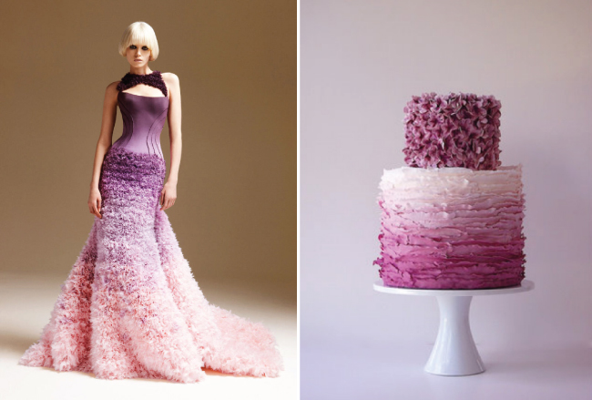{Wedding Trends} : Ombre