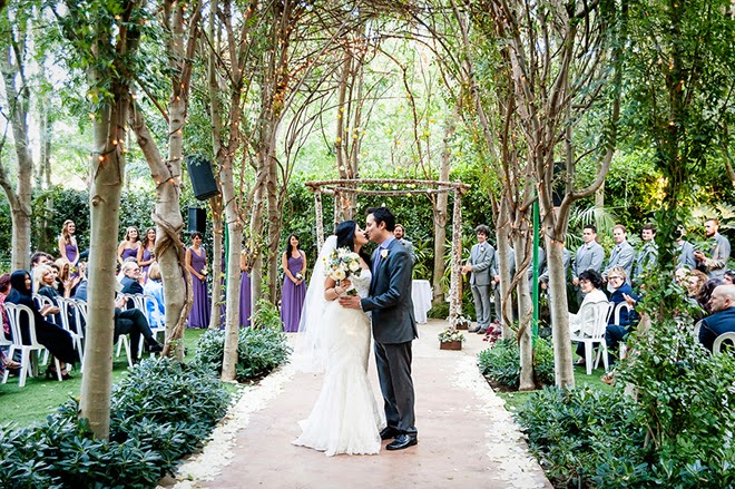 Botanical Inspired Romantic Wedding