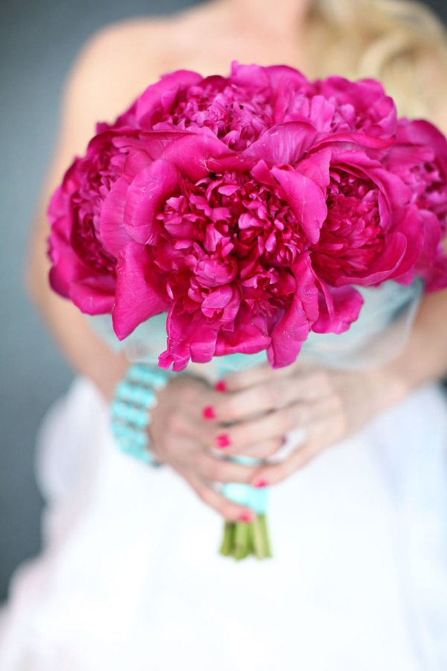{Wedding Trends} : Peony Bouquets – Part 2