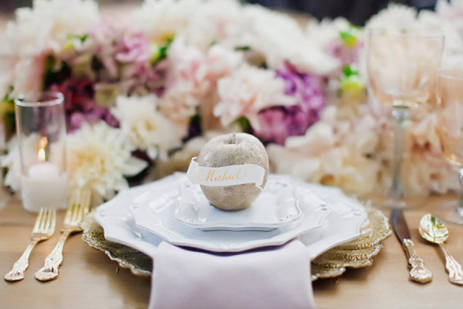 Place Setting Ideas for Weddings