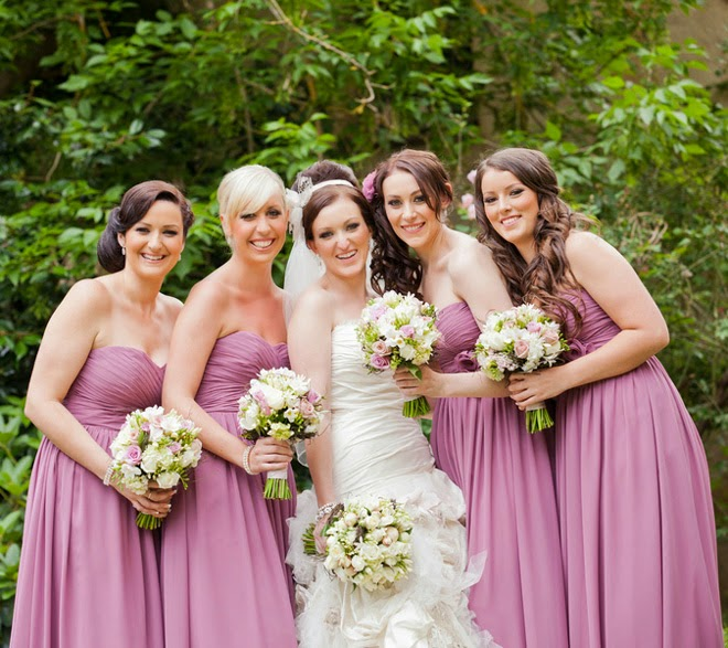 Royal Inspired Wedding with Touches of Radiant Orchid