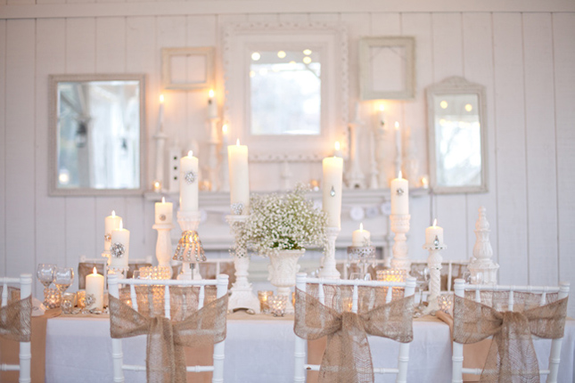 {Wedding Trends} : Burlap – a touch of rustic charm