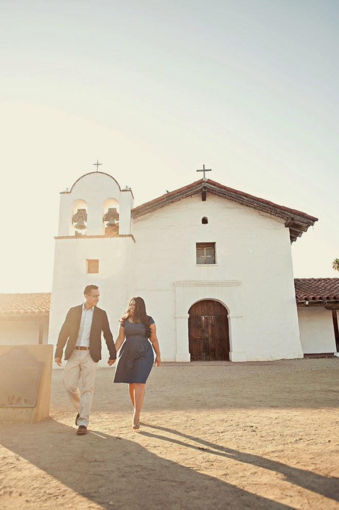 Engagement Session: A Sweet Love Affair in Santa Barbara