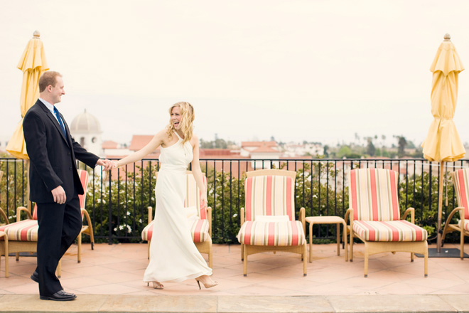 Santa Barbara Rooftop Wedding