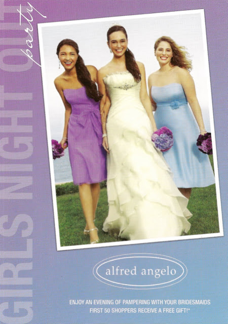 Alfred Angelo's Girls Night Out Party