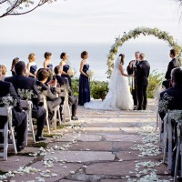 Winter Wonderland Wedding in Malibu, California