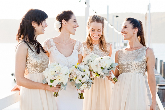 {Wedding Trends} : Sequin Bridesmaid Dresses