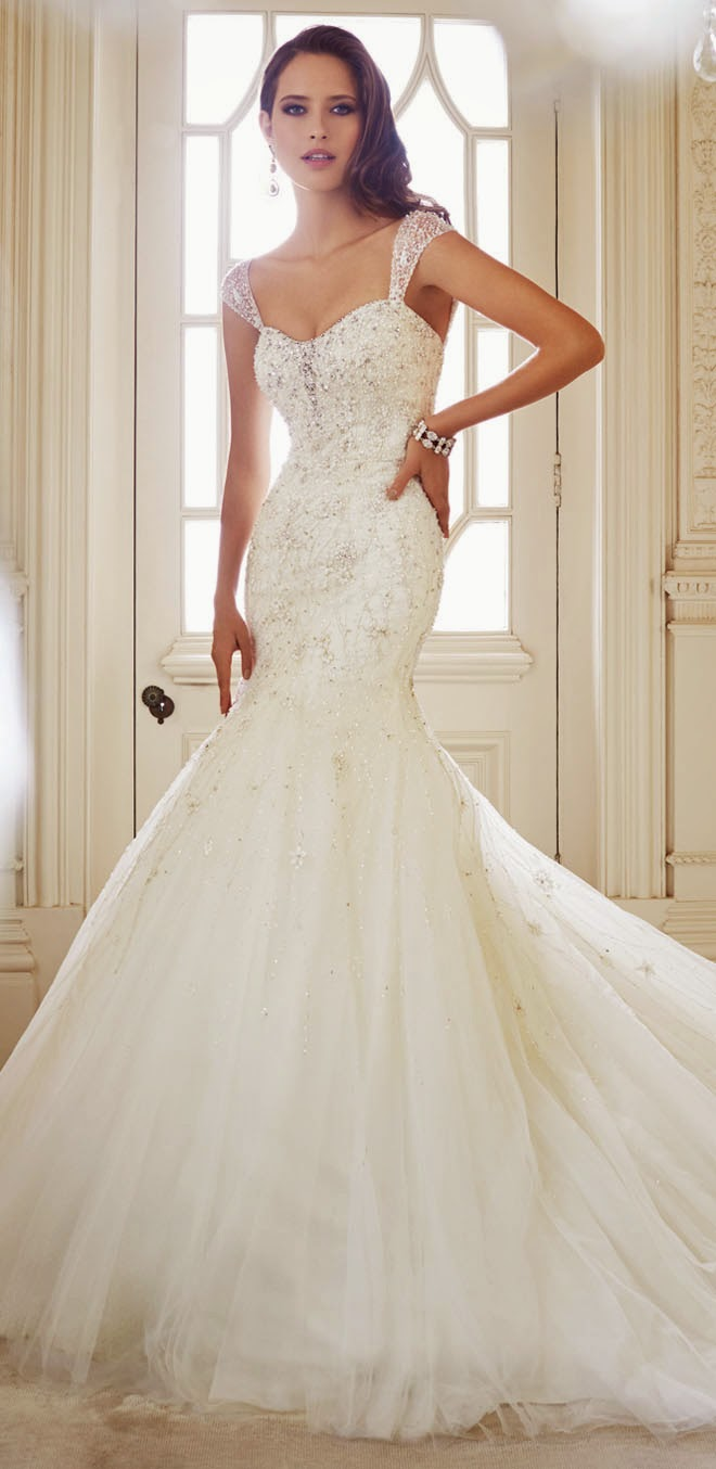 Sophia tolli fall 2014 bridal collection belle the magazine for Sophia tulle wedding dress
