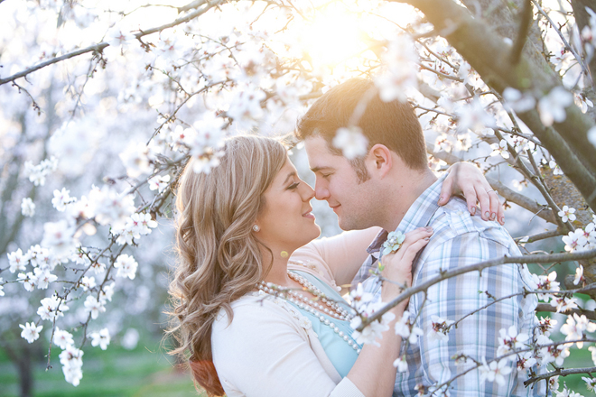 spring engagement session inspiration ideas 1