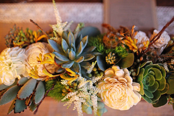 {Wedding Trends} : Modern Organic + Desert Love = Succulents