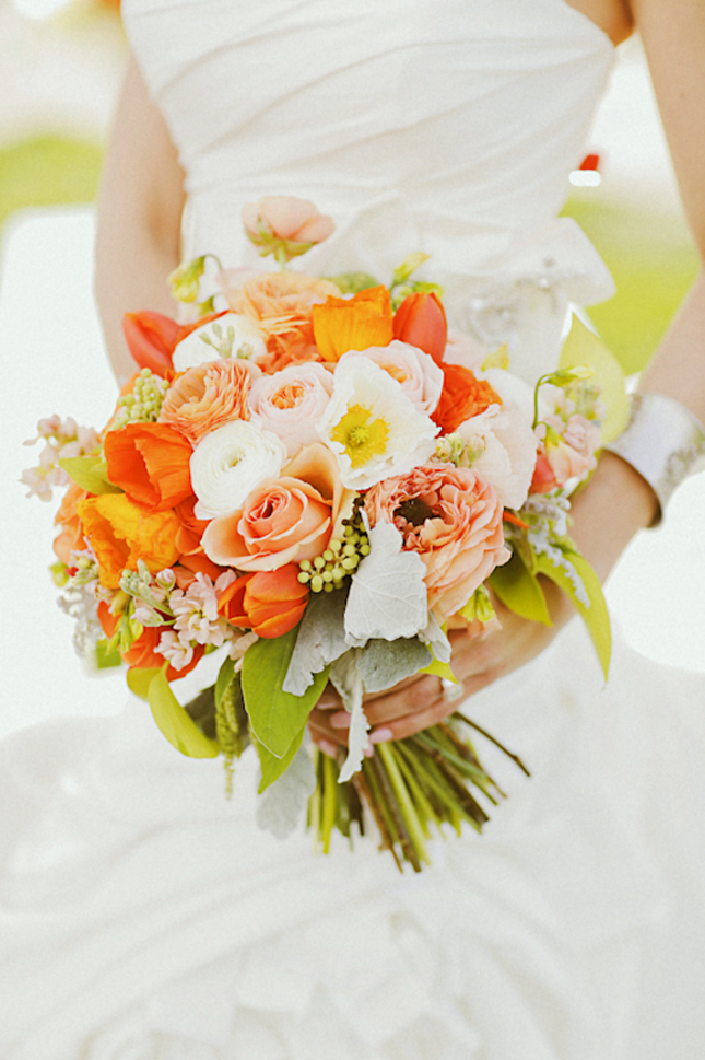 Gorgeous Tangerine Tango Wedding Inspiration