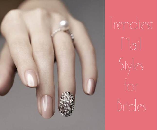 Trendy Nail Styles For Brides Belle The Magazine