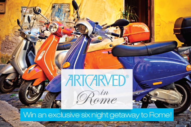 ArtCarved Trip to Rome Giveaway