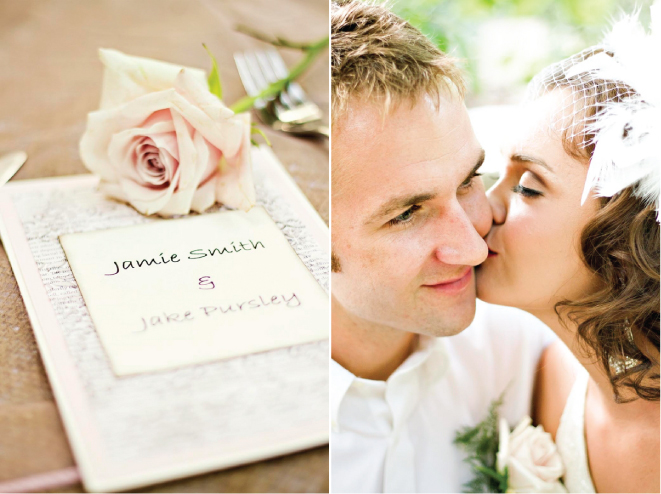 Vintage Inspired Wedding Photo-Shoot: Love Letters