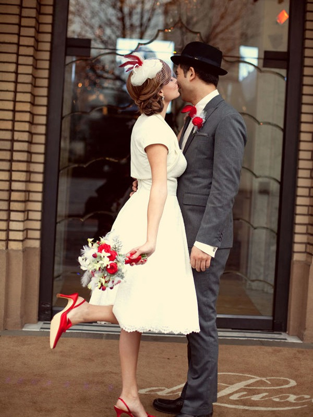 Vintage Christmas Wedding Inspiration
