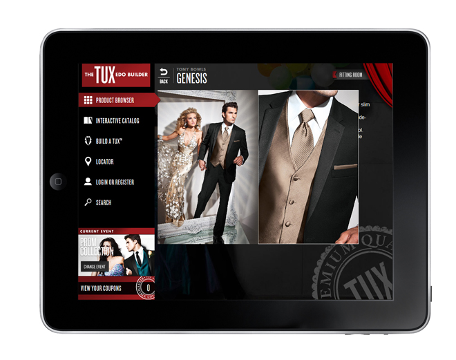 The Tuxedo Builder App by Jim's Formal Wear