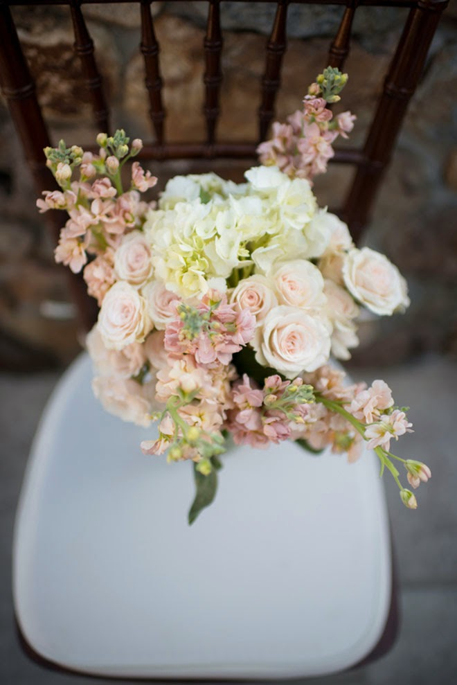 Navy + Neutrals Rustic Winery Wedding with DIY Details