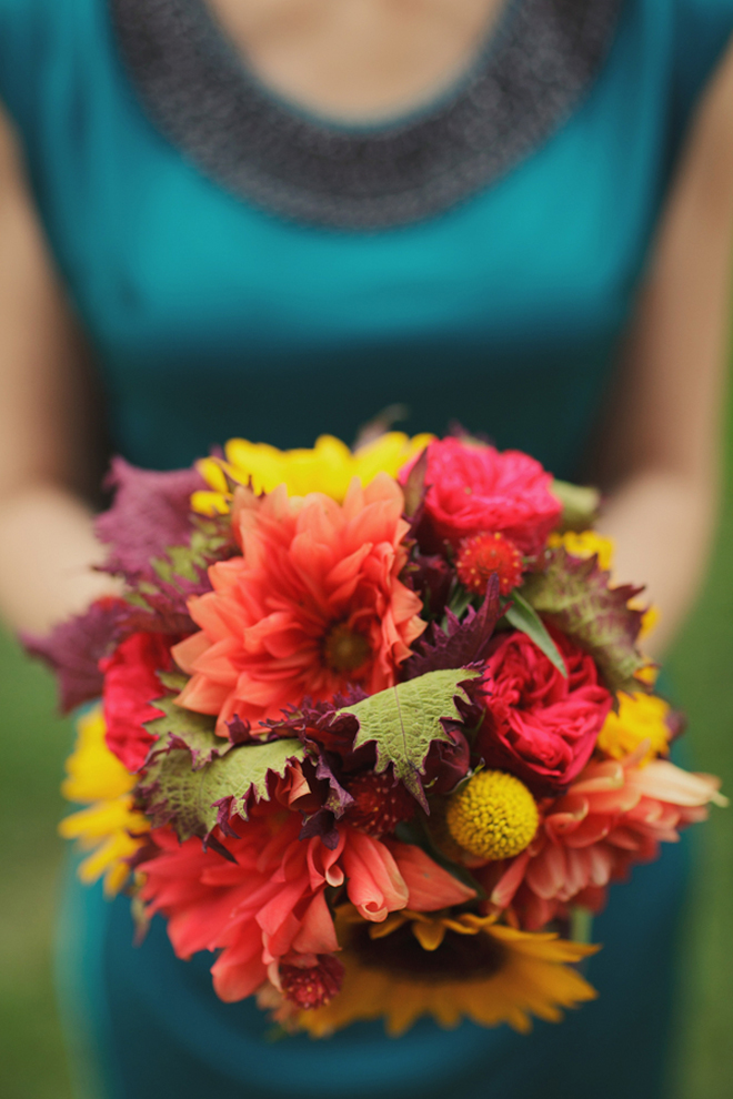 Fall Outdoor Wedding : Rustic Elegance + DIY Details