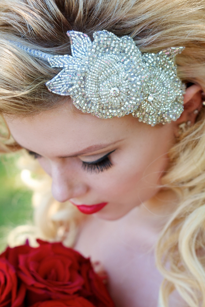 Old Hollywood Glam Bridal Inspiration | Cirque De L'Amour