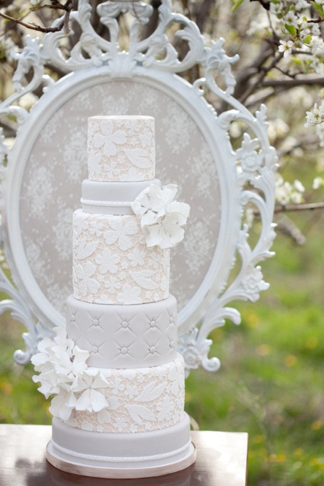 Lace Wedding Cakes – Part 6