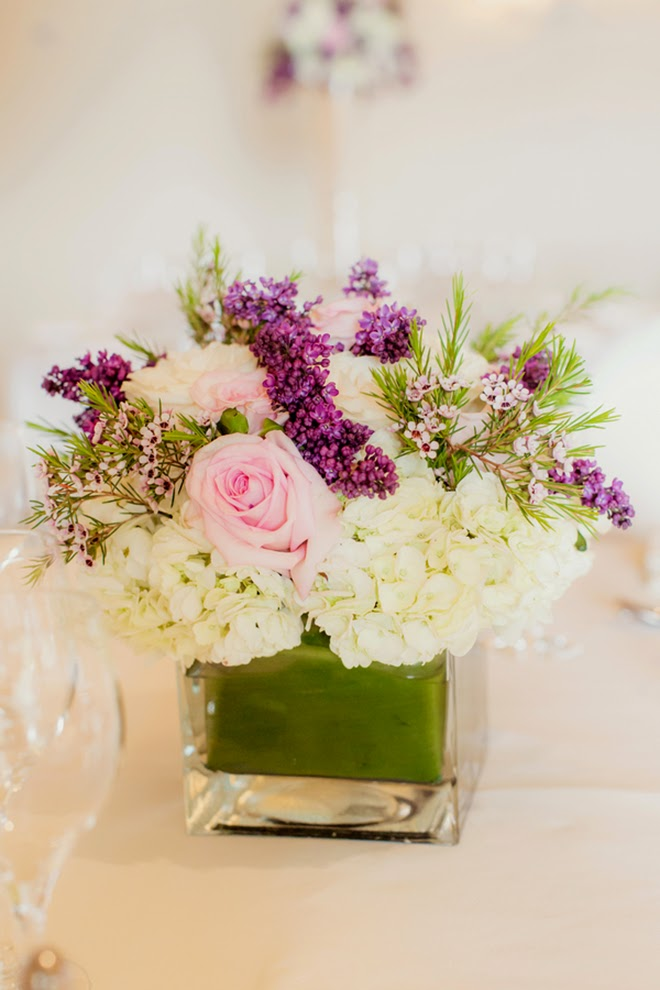 Pink and Purple Classic Wedding