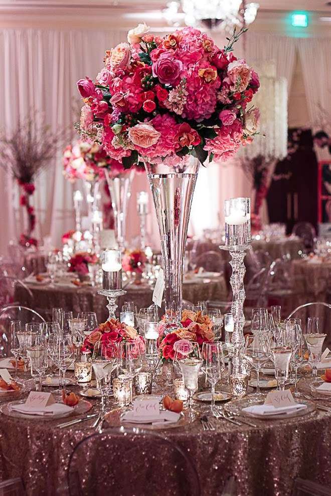 12 Stunning Wedding Centerpieces – Part 21