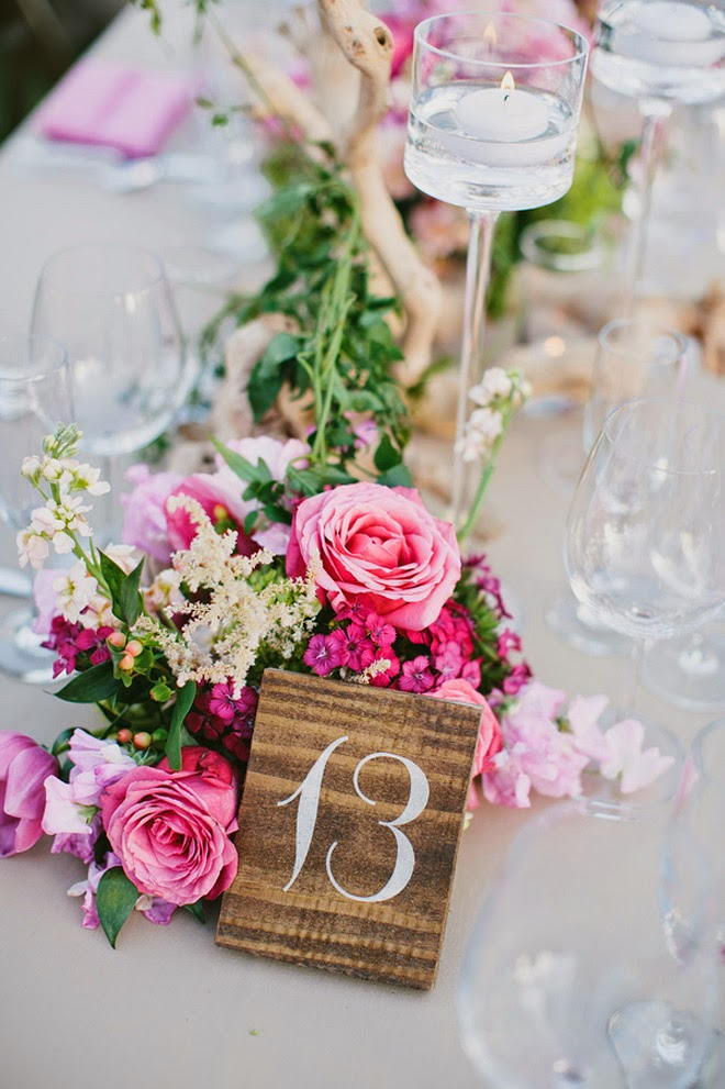 Fabulous Pink Outdoors Wedding