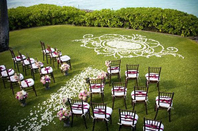 Mind-Blowing Wedding Ceremony Decor