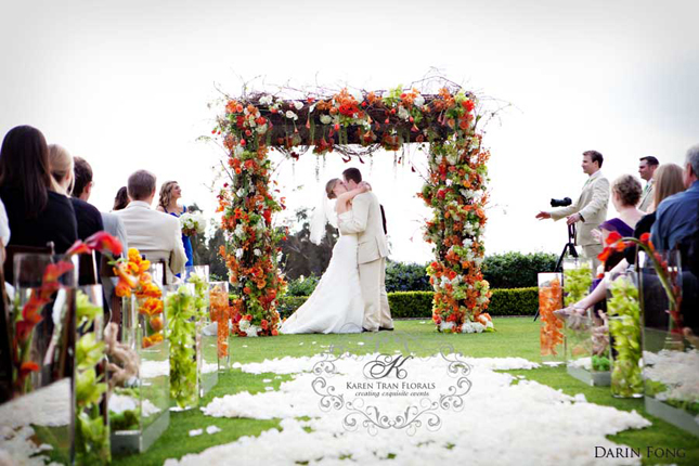 Wedding Ceremony Decor – Altars, Canopies, Arbors, Arches and Chuppahs.