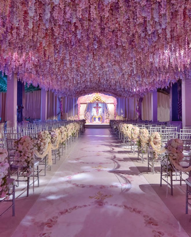 Style the aisle wedding ceremony ideas belle the magazine for Wedding walkway