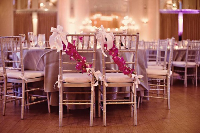 Dress up your wedding chairs belle the magazine here are some pretty elements that you can add to your wedding seating with a few pictures to get you inspired image source junglespirit Gallery