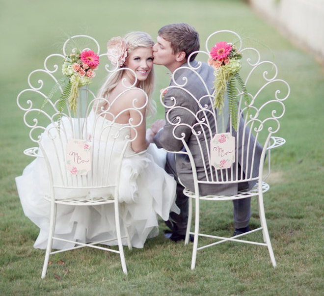 Dress Up Your Wedding Chairs – Part 2