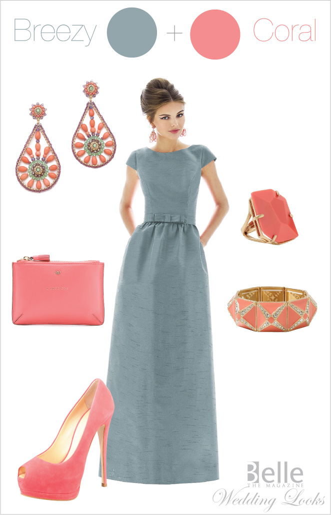 Wedding Day Look Breezy Coral Belle The Magazine