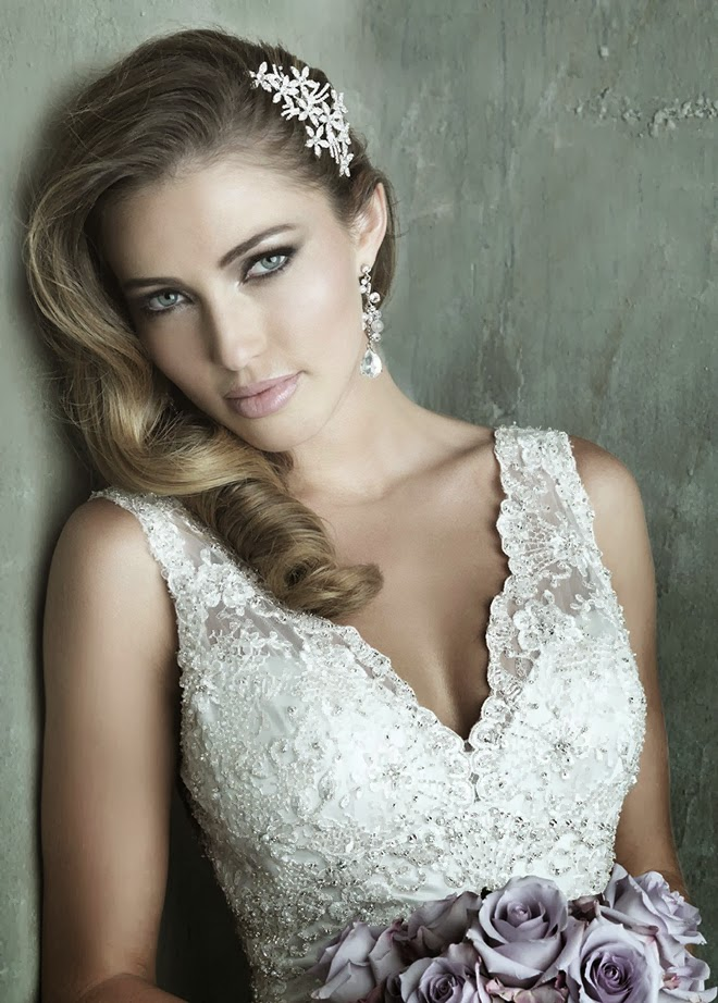 Allure Couture Spring 2014 Bridal Collection - Belle The Magazine