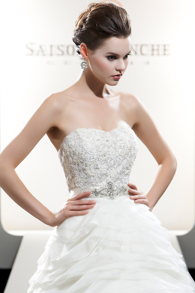 Saison Blanche 2012 Bridal Collection + My Dress of the Week