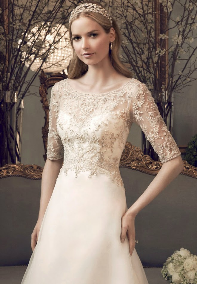 Casablanca Bridal Fall 2014