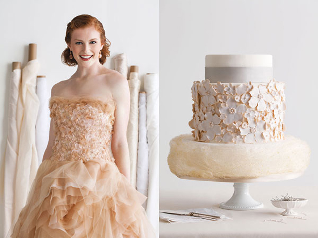 Fashion Inspired Wedding Cakes – Part 2