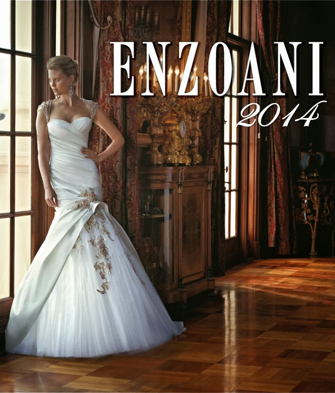 Enzoani is Off to a Golden Start with Their 2014 Collection
