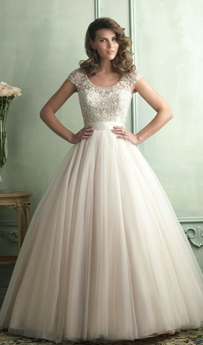 Allure Bridals Spring 2014 – Part 1