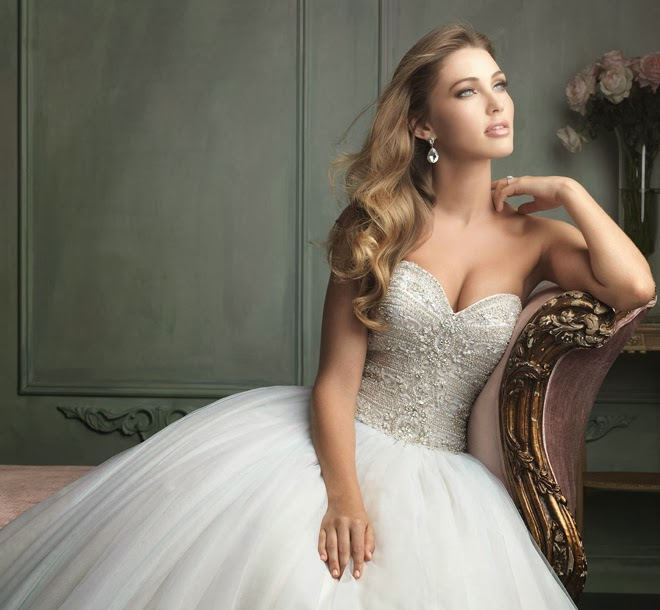 Allure Bridals Wedding Dresses: Allure Bridals Spring 2014