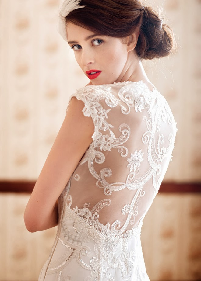 Charlotte Balbier Spring 2014 Bridal Collection: A Decade of Style