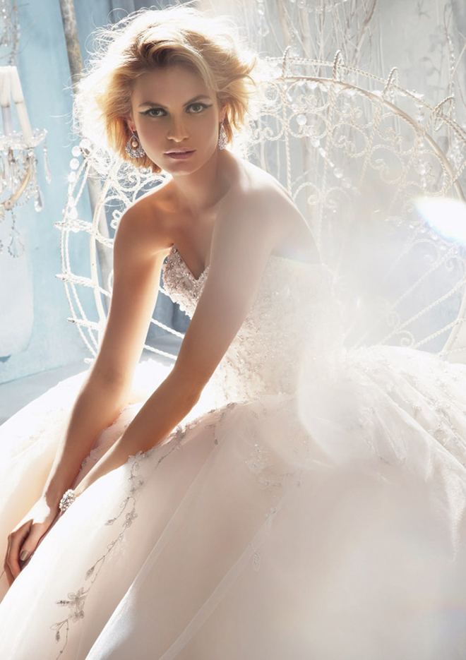Mori Lee By Madeline Gardner Fall 2013 Bridal Collection + My Dress of the Week