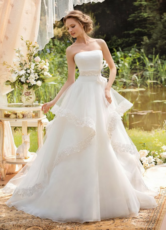 Wedding Dresses by Papilio 2014
