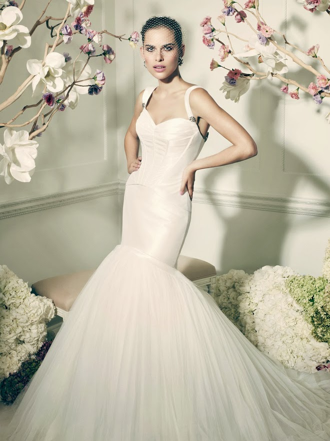 Truly zac posen 2014 wedding dresses at david 39 s bridal for Wedding dress davids bridal