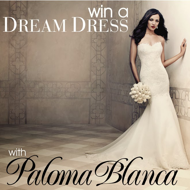 Win a Dream Dress by Paloma Blanca