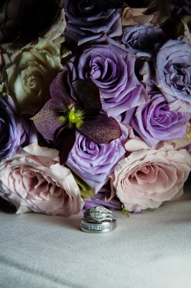 Lilac Traditional Wedding with Old Hollywood Vibe