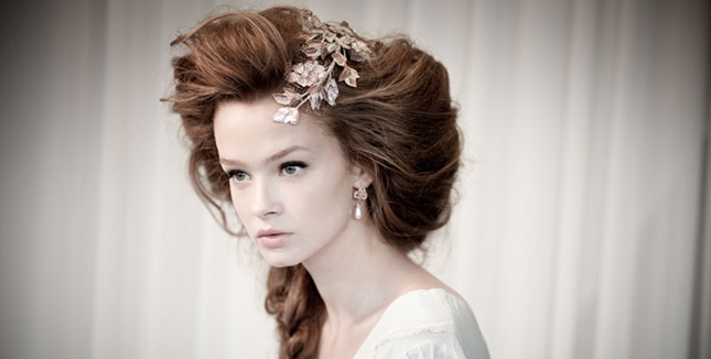 Breath-taking Bridal Accessories by Karen Wolf