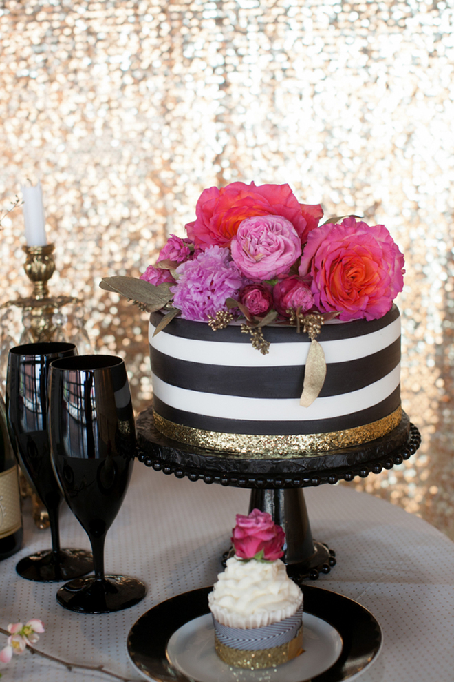 Black Pink And White Wedding IdeasWedding Ideas